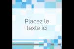 Carrés pixélisés Étiquettes carrées - gabarit prédéfini. <br/>Utilisez notre logiciel Avery Design & Print Online pour personnaliser facilement la conception.