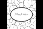 Gribouillis Étiquettes carrées - gabarit prédéfini. <br/>Utilisez notre logiciel Avery Design & Print Online pour personnaliser facilement la conception.