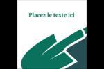 Pelle de jardin Étiquettes carrées - gabarit prédéfini. <br/>Utilisez notre logiciel Avery Design & Print Online pour personnaliser facilement la conception.