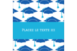 Mortiers de diplômés Étiquettes carrées - gabarit prédéfini. <br/>Utilisez notre logiciel Avery Design & Print Online pour personnaliser facilement la conception.