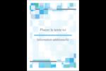 Carrés pixélisés Étiquettes rectangulaires - gabarit prédéfini. <br/>Utilisez notre logiciel Avery Design & Print Online pour personnaliser facilement la conception.