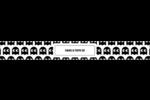 Fantômes Pac-Man d'Halloween Étiquettes enveloppantes - gabarit prédéfini. <br/>Utilisez notre logiciel Avery Design & Print Online pour personnaliser facilement la conception.