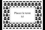 Fantômes Pac-Man d'Halloween Étiquettes rectangulaires - gabarit prédéfini. <br/>Utilisez notre logiciel Avery Design & Print Online pour personnaliser facilement la conception.