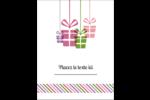 Quatre cadeaux Carte Postale - gabarit prédéfini. <br/>Utilisez notre logiciel Avery Design & Print Online pour personnaliser facilement la conception.