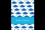 Mortiers de diplômés Carte Postale - gabarit prédéfini. <br/>Utilisez notre logiciel Avery Design & Print Online pour personnaliser facilement la conception.