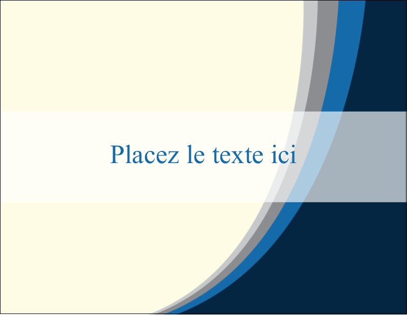 "4¼"" X 5½"" Carte Postale - Vague bleue"