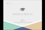 Diplômes et couleurs Carte Postale - gabarit prédéfini. <br/>Utilisez notre logiciel Avery Design & Print Online pour personnaliser facilement la conception.