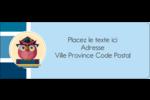 Hibou diplômé Étiquettes D'Adresse - gabarit prédéfini. <br/>Utilisez notre logiciel Avery Design & Print Online pour personnaliser facilement la conception.
