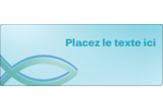 Ichthus Étiquettes D'Adresse - gabarit prédéfini. <br/>Utilisez notre logiciel Avery Design & Print Online pour personnaliser facilement la conception.