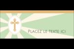 Croix pastel Affichette - gabarit prédéfini. <br/>Utilisez notre logiciel Avery Design & Print Online pour personnaliser facilement la conception.
