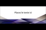 Prisme de verre Affichette - gabarit prédéfini. <br/>Utilisez notre logiciel Avery Design & Print Online pour personnaliser facilement la conception.