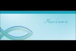 Ichthus Affichette - gabarit prédéfini. <br/>Utilisez notre logiciel Avery Design & Print Online pour personnaliser facilement la conception.