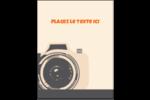 Appareil photo rétro Carte Postale - gabarit prédéfini. <br/>Utilisez notre logiciel Avery Design & Print Online pour personnaliser facilement la conception.