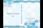 Carrés pixélisés Carte Postale - gabarit prédéfini. <br/>Utilisez notre logiciel Avery Design & Print Online pour personnaliser facilement la conception.
