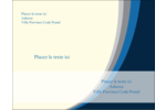 Vague bleue Carte Postale - gabarit prédéfini. <br/>Utilisez notre logiciel Avery Design & Print Online pour personnaliser facilement la conception.