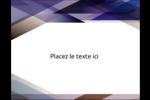 Prisme de verre Carte Postale - gabarit prédéfini. <br/>Utilisez notre logiciel Avery Design & Print Online pour personnaliser facilement la conception.