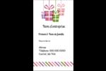 Quatre cadeaux Carte d'affaire - gabarit prédéfini. <br/>Utilisez notre logiciel Avery Design & Print Online pour personnaliser facilement la conception.