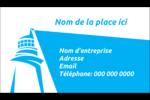 Phare bleu Carte d'affaire - gabarit prédéfini. <br/>Utilisez notre logiciel Avery Design & Print Online pour personnaliser facilement la conception.