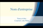 Vague bleue Carte d'affaire - gabarit prédéfini. <br/>Utilisez notre logiciel Avery Design & Print Online pour personnaliser facilement la conception.