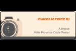 Appareil photo rétro Étiquettes D'Adresse - gabarit prédéfini. <br/>Utilisez notre logiciel Avery Design & Print Online pour personnaliser facilement la conception.