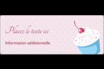 Petit gâteau aux cerises Étiquettes D'Adresse - gabarit prédéfini. <br/>Utilisez notre logiciel Avery Design & Print Online pour personnaliser facilement la conception.