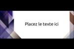 Prisme de verre Étiquettes D'Adresse - gabarit prédéfini. <br/>Utilisez notre logiciel Avery Design & Print Online pour personnaliser facilement la conception.