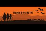 Enfants à l'Halloween Affichette - gabarit prédéfini. <br/>Utilisez notre logiciel Avery Design & Print Online pour personnaliser facilement la conception.