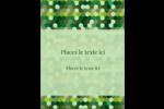 Hexagones verts Carte Postale - gabarit prédéfini. <br/>Utilisez notre logiciel Avery Design & Print Online pour personnaliser facilement la conception.