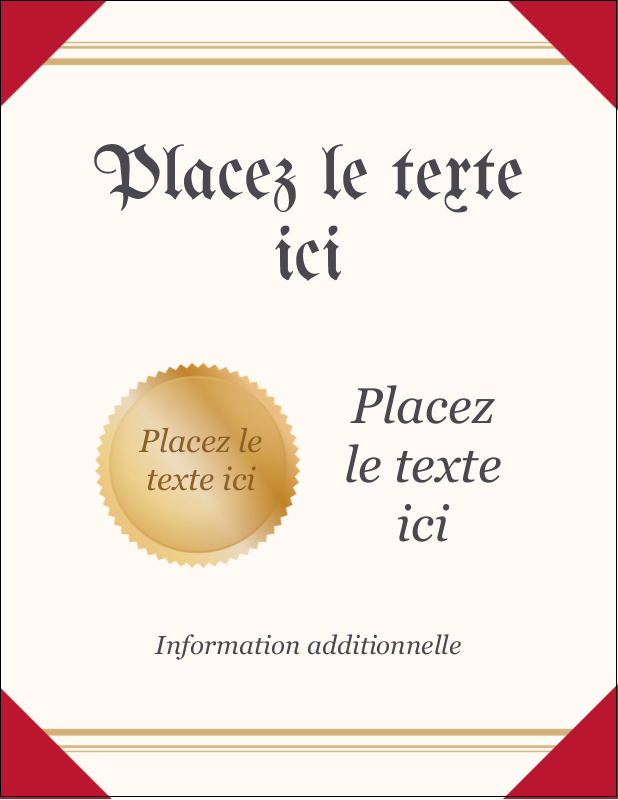 "5½"" x 4¼"" Carte Postale - Diplôme d'études"