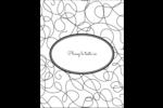 Gribouillis Carte Postale - gabarit prédéfini. <br/>Utilisez notre logiciel Avery Design & Print Online pour personnaliser facilement la conception.