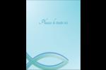 Ichthus Carte Postale - gabarit prédéfini. <br/>Utilisez notre logiciel Avery Design & Print Online pour personnaliser facilement la conception.