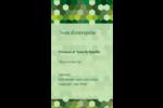 Hexagones verts Carte d'affaire - gabarit prédéfini. <br/>Utilisez notre logiciel Avery Design & Print Online pour personnaliser facilement la conception.