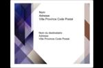 Prisme de verre Étiquettes d'expédition - gabarit prédéfini. <br/>Utilisez notre logiciel Avery Design & Print Online pour personnaliser facilement la conception.
