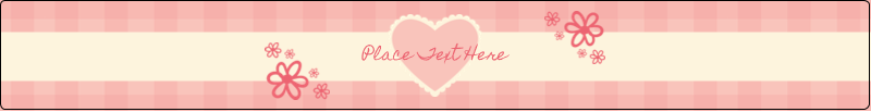 "9¾"" x 1¼"" Wraparound Label - Valentine Gingham"