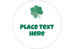 Add lovable luck to your project with pre-designed St. Patrick's Heart Shamrocks templates.