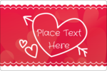 Add flirty fun to your custom project with pre-designed Valentine Drawn templates.