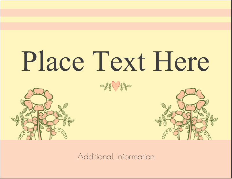 "5½"" x 4¼"" Postcard - Flower Sketch"