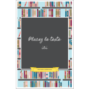 Rayons de bibliothèque