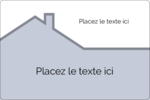 Construction de maison Étiquettes rectangulaires - gabarit prédéfini. <br/>Utilisez notre logiciel Avery Design & Print Online pour personnaliser facilement la conception.