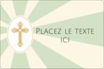 Croix pastel Étiquettes rectangulaires - gabarit prédéfini. <br/>Utilisez notre logiciel Avery Design & Print Online pour personnaliser facilement la conception.