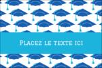 Mortiers de diplômés Étiquettes rectangulaires - gabarit prédéfini. <br/>Utilisez notre logiciel Avery Design & Print Online pour personnaliser facilement la conception.