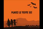 Enfants à l'Halloween Étiquettes rectangulaires - gabarit prédéfini. <br/>Utilisez notre logiciel Avery Design & Print Online pour personnaliser facilement la conception.