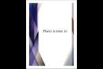 Prisme de verre Étiquettes rectangulaires - gabarit prédéfini. <br/>Utilisez notre logiciel Avery Design & Print Online pour personnaliser facilement la conception.
