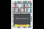 Rayons de bibliothèque Étiquettes rectangulaires - gabarit prédéfini. <br/>Utilisez notre logiciel Avery Design & Print Online pour personnaliser facilement la conception.