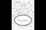 Gribouillis Étiquettes rectangulaires - gabarit prédéfini. <br/>Utilisez notre logiciel Avery Design & Print Online pour personnaliser facilement la conception.