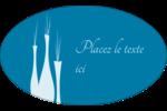 Vase design d'intérieur Étiquettes ovales - gabarit prédéfini. <br/>Utilisez notre logiciel Avery Design & Print Online pour personnaliser facilement la conception.