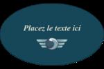 Ailes de limousine Étiquettes ovales - gabarit prédéfini. <br/>Utilisez notre logiciel Avery Design & Print Online pour personnaliser facilement la conception.