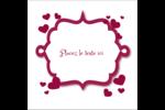 Bulles de Saint-Valentin Étiquettes carrées - gabarit prédéfini. <br/>Utilisez notre logiciel Avery Design & Print Online pour personnaliser facilement la conception.