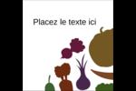 Panier de légumes Étiquettes carrées - gabarit prédéfini. <br/>Utilisez notre logiciel Avery Design & Print Online pour personnaliser facilement la conception.