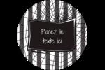 Toile d'araignée Beetlejuice Étiquettes rondes - gabarit prédéfini. <br/>Utilisez notre logiciel Avery Design & Print Online pour personnaliser facilement la conception.